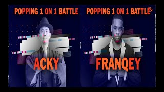 Acky vs Franqey – BBIC KOREA WORLD FINALS 2019 Popping Final