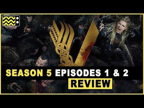Vikings Season 5 Episodes 1 & 2 Review & Reaction   AfterBuzz TV