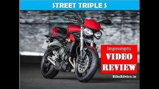 9. 2018 Triumph Street Triple S Review