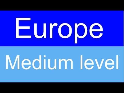 Flags of Europe quiz - Level: Medium