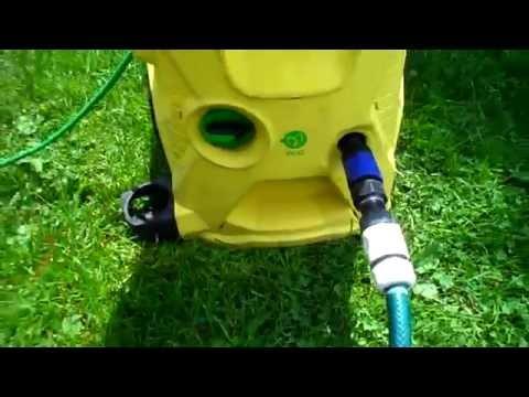 Karcher K4 Premium Ecologic . Słabe ciśnienie .