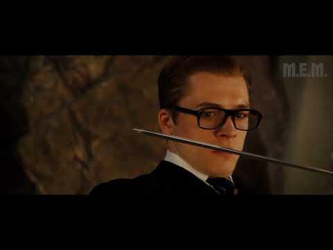 Kingsman: The Secret Service (2014) - Final battle (edited - Only Action)