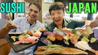 "Video FIRST SUSHI EXPERIENCE in Japan With John Daub From ""Only in Japan"" MP3, 3GP, MP4, WEBM, AVI, FLV Maret 2019"