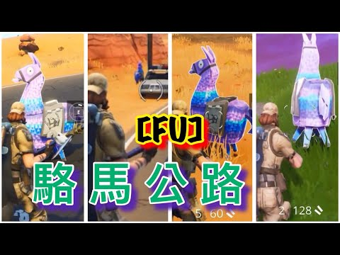 【FU】Fortnite要塞英雄 駱馬公路!?今年是幾倍R