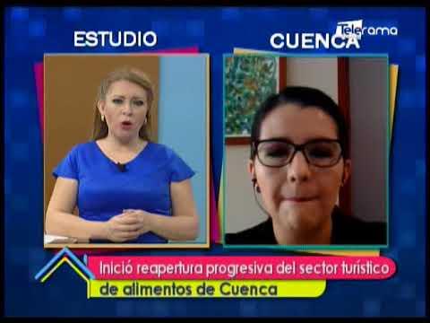 Inició reapertura progresiva del sector turístico de alimentos de Cuenca