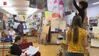 Výtvarná vernisáž žáků Základní umělecké školy