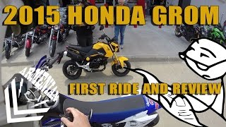 7. 2015 Honda Grom First Ride and Review
