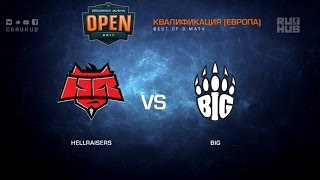 HellRaisers vs. BiG - Dreamhack Austin Qualification - map1 - de_train [yxo, Davidokkkk ]