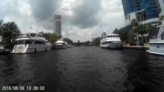 This video was shot with a Go Pro attached to my pontoon boat Redneck Riviera starting from the mouth of the New River ( Tarpon ...