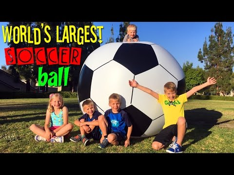 WORLD'S LARGEST SOCCER BALL!!
