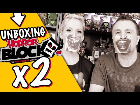 2 HORROR BLOCKS : September and October 2015 Unboxing Review