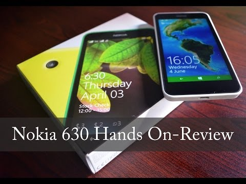 Nokia Lumia 630 Dual Sim running on Windows Phone 8.1 Unboxing & Hands On Review!