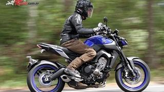 3. 2017 Yamaha MT 09 Review Test