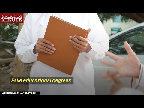 Fake educational degrees