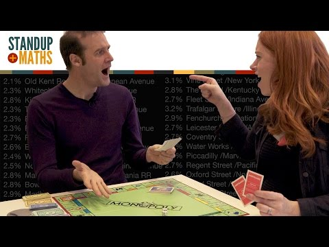 Two mathematicians geeking out over Monopoly probabilities. Mathematics of winning monopoly.