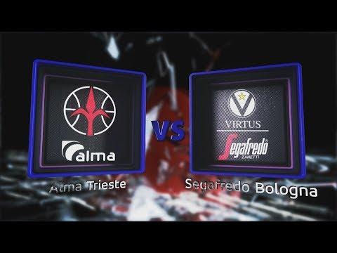 Virtus, gli highlights del match contro Trieste