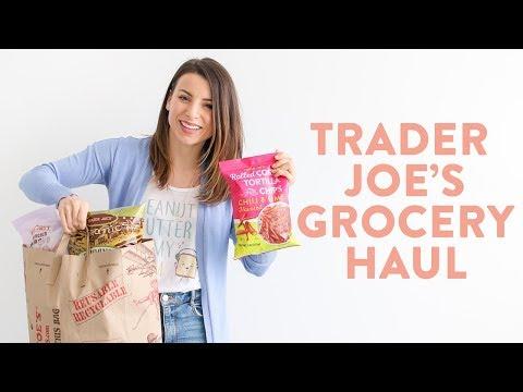 Nutrition - Healthy Grocery Haul 2019  Trader Joe's Haul