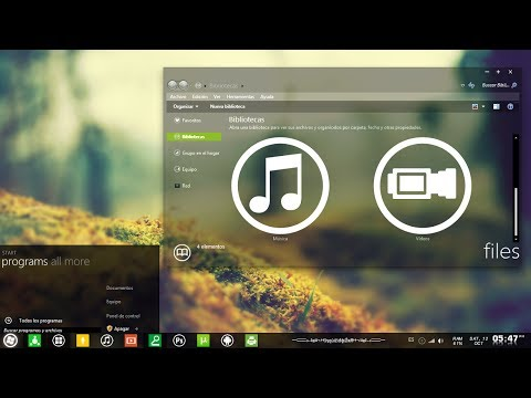 Temas para windows 7 - Mi canal : http://www.youtube.com/user/...