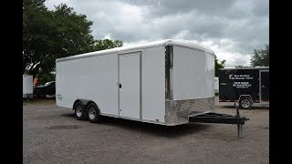6. 8.5x20 Pace American | Enclosed Trailer