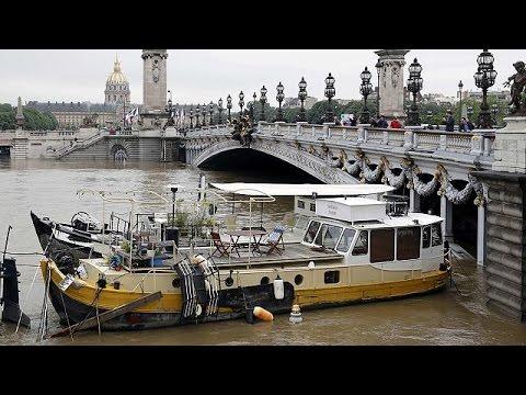 Έπεσε ελαφρά η στάθμη του Σηκουάνα – Συνεχίζονται οι επιχειρήσεις στη Γαλλία