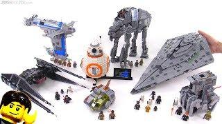Video LEGO Star Wars The Last Jedi full wave mini-review! MP3, 3GP, MP4, WEBM, AVI, FLV Oktober 2017