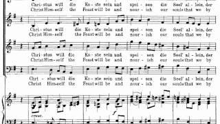 Download Lagu Bach BWV 4-8 Versus 7 Wir essen und wir leben wohl Mp3