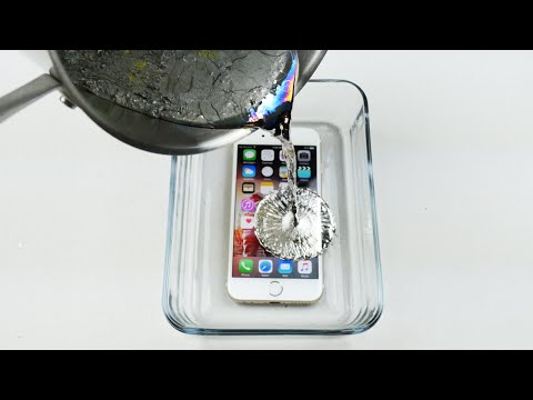 How To Properly Cook an iPhone 6S in Hot Metal