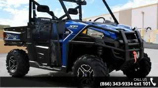 7. 2016 Polaris RANGER XP 900 EPS Trail Edition Blue Fire  -...