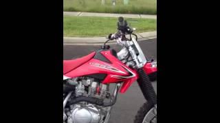 3. 2013 Honda CRF150F 4stroke