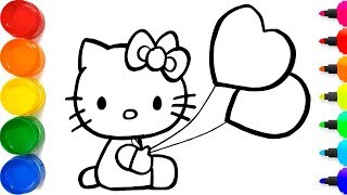 Video Cara Menggambar Hello Kitty Yang Berkilauan untuk anak-an   Cara Mewarnai Hello Kitty MP3, 3GP, MP4, WEBM, AVI, FLV Juni 2019