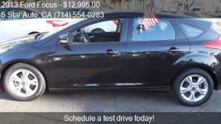 2013 Ford Focus SE 4dr Hatchback for sale in Santa Ana, CA 9