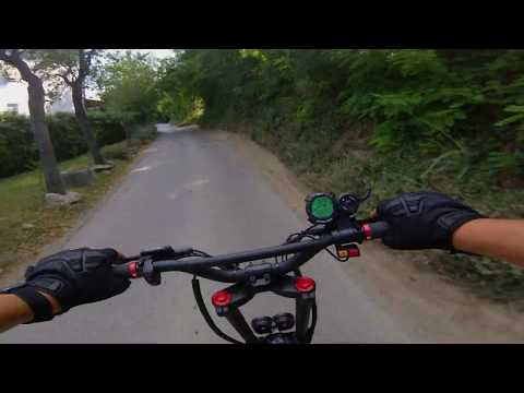 Kaabo Wolf Warrior 11 Uphill ride *No Music*