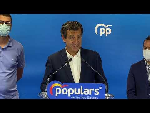 Biel Company anuncia que no és presentarà a la reelecció com a president del PP Balears