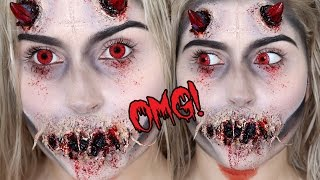Nonton Possessed Demon or Devil SFX! ♡ Halloween Makeup Tutorial Film Subtitle Indonesia Streaming Movie Download