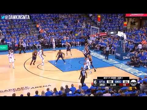 Russell Westbrook Full Highlights WCR1 Game 1 OKC Thunder vs Utah Jazz 29 13 8! | FreeDawk
