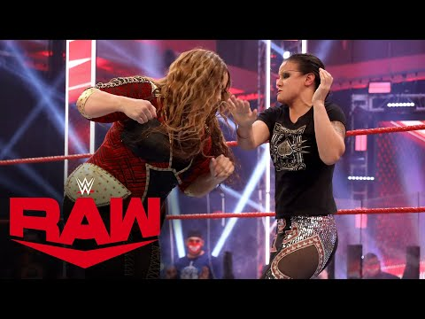 Nia Jax and Shayna Baszler brawl: Raw, July 27, 2020