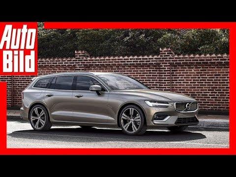 Volvo V60 (2018) Erste Sitzprobe/Details/Erklärung