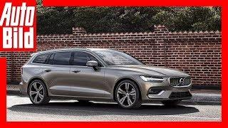 Volvo V60 (2018) Erste Sitzprobe/Details/Erklärung by Auto Bild