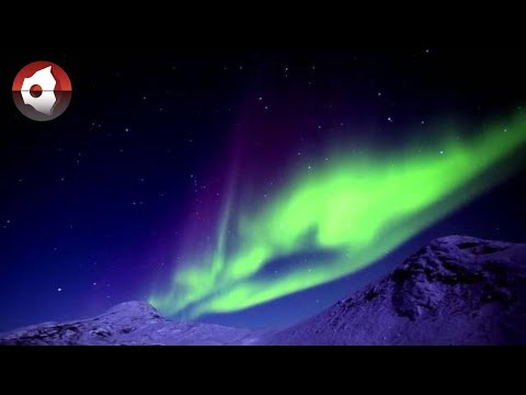 Magic northern lights of Greenland!