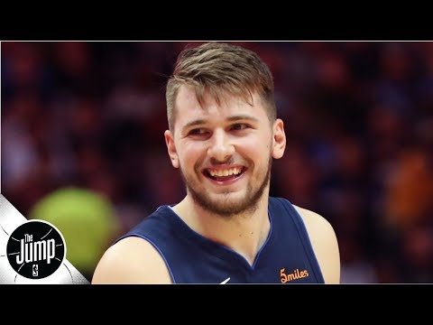Video: Luka Doncic says the Mavericks will make the playoffs | BS or Real Talk | The Jump