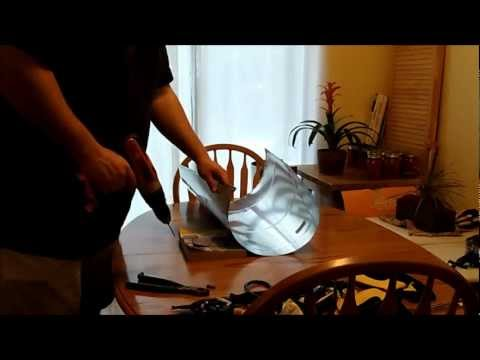 DIY Homemade Aquaponics / Hydroponics CFL Grow Light Fixture