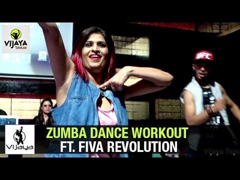 Zumba Dance Workout ft. Fiva Revolution @ Playboy, Novotel  Choreographed By Vijaya Tupurani