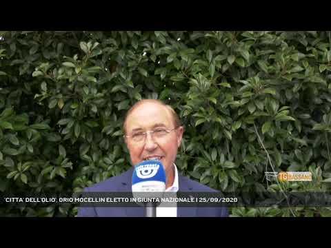 'CITTA' DELL'OLIO', ORIO MOCELLIN ELETTO IN GIUNTA NAZIONALE   25/09/2020
