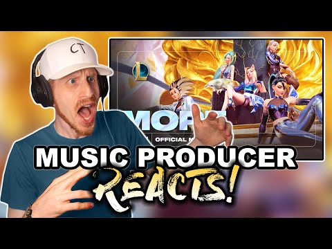 Music Producer Reacts to K/DA - MORE | League of Legends