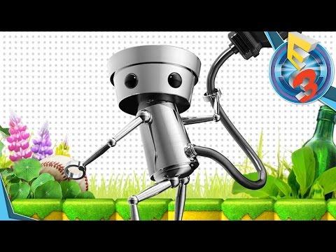 [E3 2016] - Cheval d'E3 - Meilleur jeu de plateforme 2015 -  Chibi-Robo! : Zip Lash