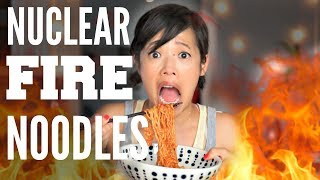"These instant noodles are suppose to be twice as spicy as the original fire noodles.  Let's see if I can handle it... New videos every Monday, Thursday, and Saturday!Join the Emmy League of Adventuresome Eaters & find me here:Subscribe: http://youtube.com/subscription_center?add_user=emmymadeinjapanTwitter: https://twitter.com/emmymadeinjapanInstagram: http://instagram.com/emmymadeSnapchat: @emmymadeFacebook: https://www.facebook.com/itsemmymadeinjapan/My other channel: emmymade http://bit.ly/1zK04SJThis video is NOT sponsored.  Khay Han's just wanted to share. Original Fire Noodle Challenge: http://bit.ly/2ixv2QgSpicy Foods Playlist: http://bit.ly/2bRgOsCBee Vlogs: http://bit.ly/2qGyaf4Mexican Ska Party & Sprightly music courtesy of audionetwork.com and royalty-free Sprightly from iMovie.  If you're reading this, you know what's what. Comment: ""Favorite pastime: blowing raspberries."" below. :)"