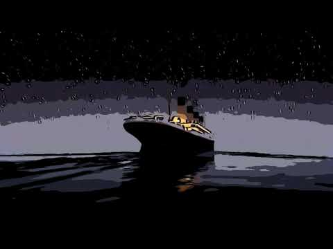 Titanic sinks in REAL TIME - 2 HOURS 40 MINUTE