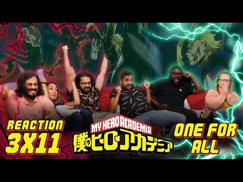 My Hero Academia -  3x11 One For All - Group Reaction