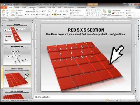 """Как сделать анимированный кроссворд в powerpoint 2007 """" K2eao.ru"""