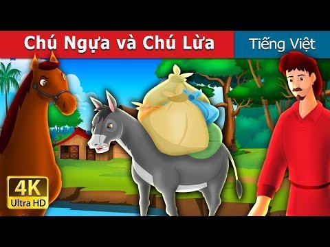 Chú Ngựa và Chú Lừa | Chuyen co tich | Truyện cổ tích việt nam - Thời lượng: 15 phút.